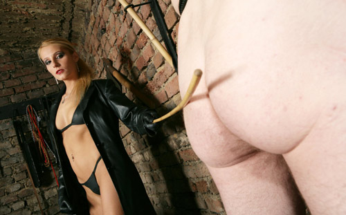 Caning mistress