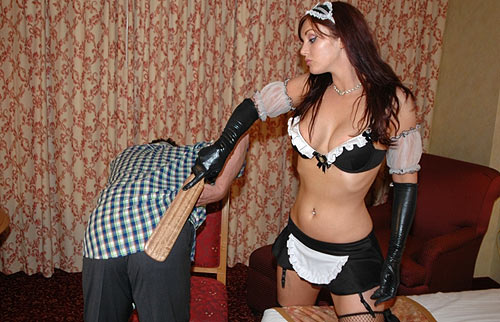 Femdom Maid